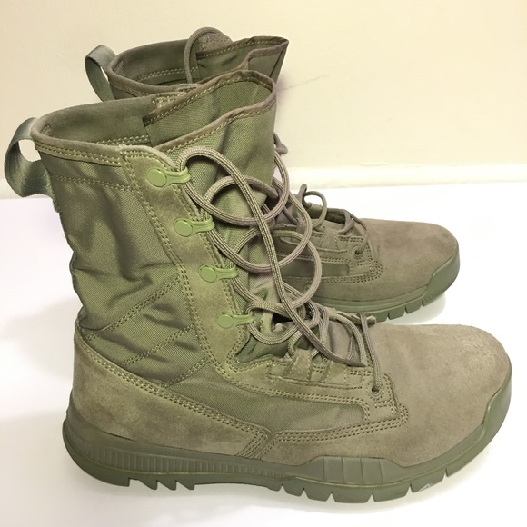 Army Green Combat Boots